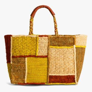 Gerard Darel - Ayana Raffia Shopper Bag